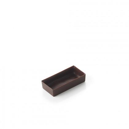 Cassoleta de xocolata prima mini rectangular, La Rose Noire