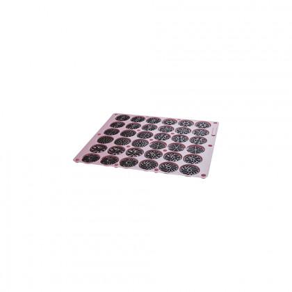 Assortiment de discos de xocolata troquelats, La Rose Noire