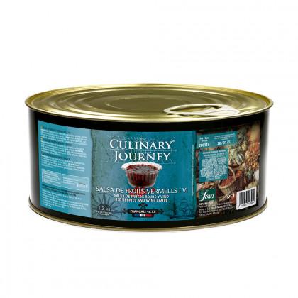 Salsa de fruits vermells i vi (1,3kg), Culinary Journey