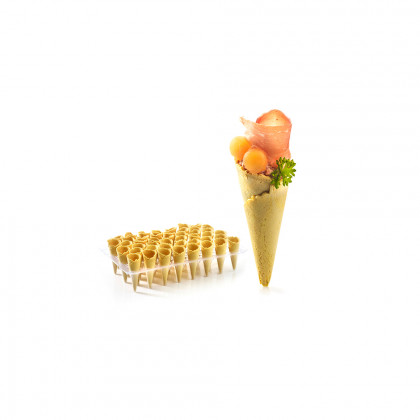 Mini cornet curry (coated), Pidy - 90 unitats
