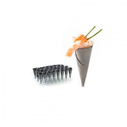 Mini cornet de sèpia (coated), Pidy - 90 unitats