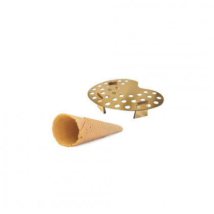 Mini cornet neutral + 1 paint (7,5x2,5cm), Pidy - 112 unitats