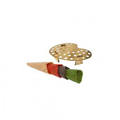 Mini cornet assortit + 1 paint, Pidy - 96 unitats