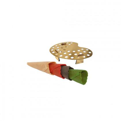 Mini cornet assortit (coated) + 1 paint, Pidy - 180 unitats