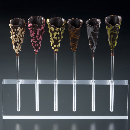 Passion Cones de xocolata negra, La Rose Noire