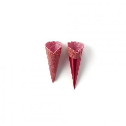 Mini Cornet sabor maduixa, La Rose Noire