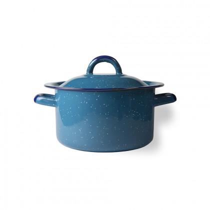 Olla Recta Peltre Azul Ø16