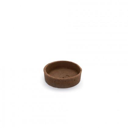 Trendy shell xocolata (rodó) (7x7x1,8cm), Pidy - 36 unitats