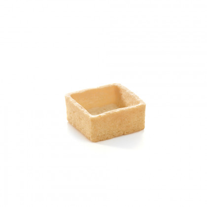 Mini trendy shell neutre (quadrat) (3,5x3,5x1,5cm), Pidy - 96 unitats
