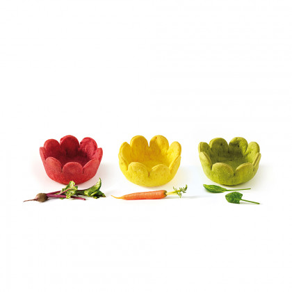Veggie cup pastanaga (3x1,5cm), Pidy - 96 unitats
