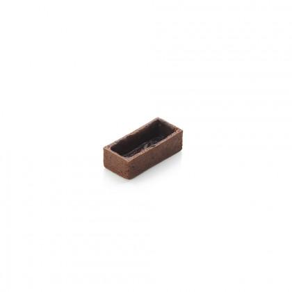 Cassoleta de xocolata mini rectangular, La Rose Noire