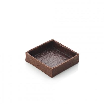 Cassoleta de xocolata mitjana quadrada, La Rose Noire