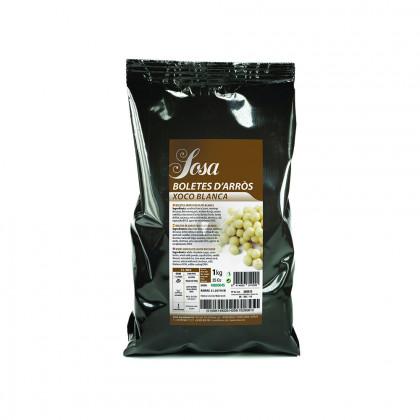 Boletes d'arròs amb xocolata blanca (1kg), Sosa