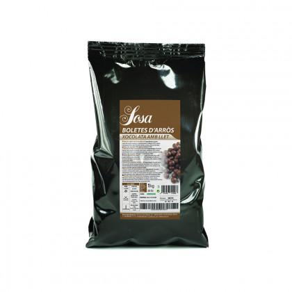 Boletes d'arròs amb xocolata amb llet (1kg), Sosa