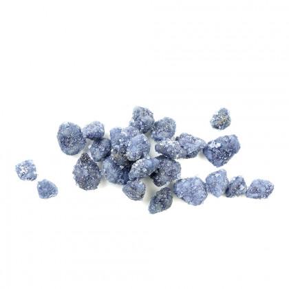 Violeta cristal·litzada a trossos d'1 mm aprox., Sosa