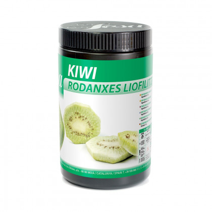 Kiwi a rodanxes liofilitzat, Sosa