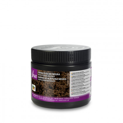 Farina d'oliva negra liofilitzada, Sosa