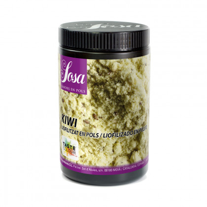 Kiwi liofilitzat en pols, Sosa