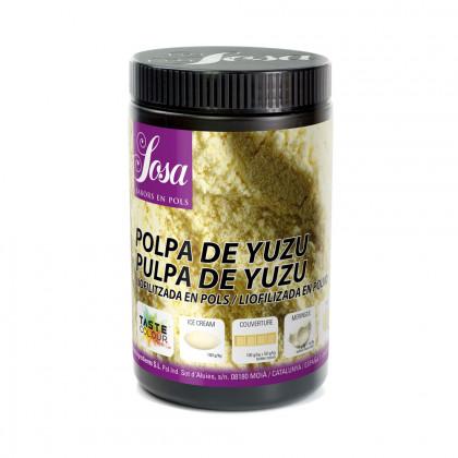 Yuzu Polpa liofilitzat en pols, Sosa