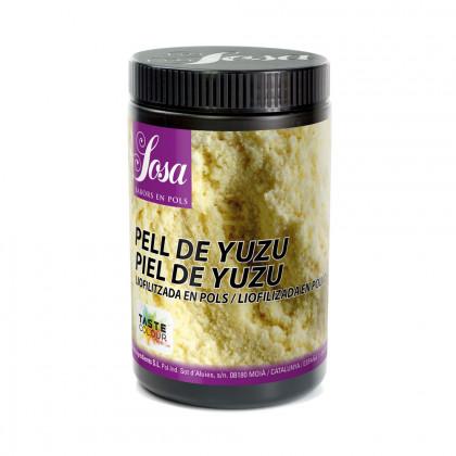 Yuzu pell liofilitzat en pols, Sosa