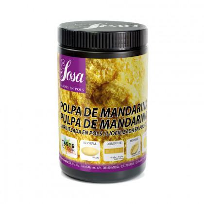 Mandarina Polpa liofilitzada en pols, Sosa