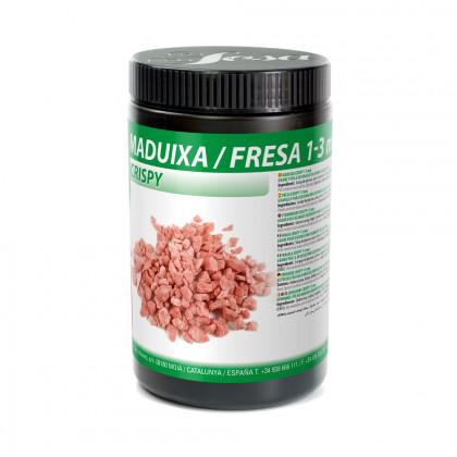 Maduixa crispy 1-3mm, Sosa
