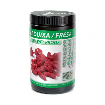 Maduixa crispy wet-proof, Sosa
