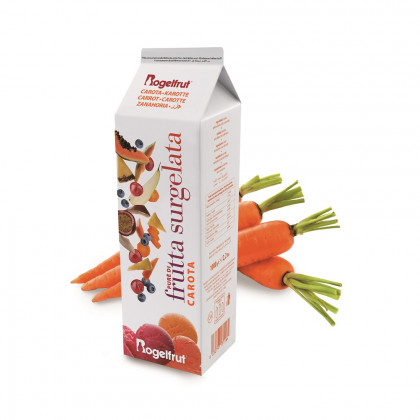 Polpa de pastanaga congelada (1kg), Rogelfrut