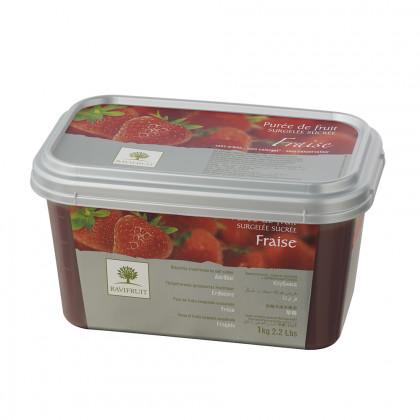 Polpa de maduixa congelada (1kg), Ravifruit