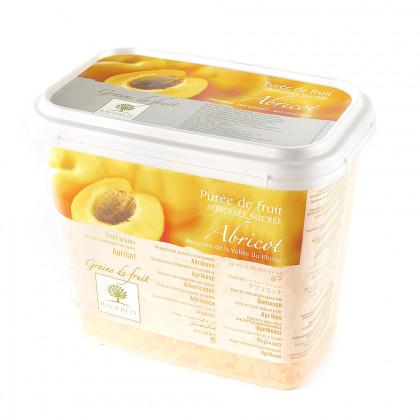 Grains de fruit d'albercoc congelats (1kg), Ravifruit