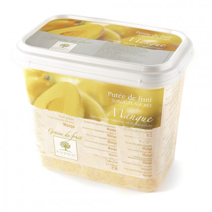 Grains de fruit de mango congelats (1kg), Ravifruit