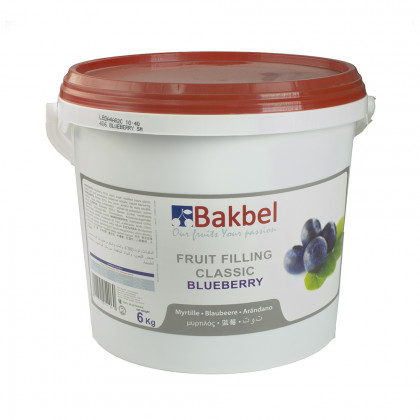 Fruit Filling Classic de mirtil (6kg), Bakbel
