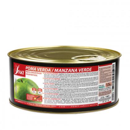 Poma verda en pasta, Sosa