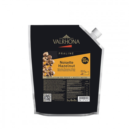 Praliné d'avellana 55% (3kg), Valrhona