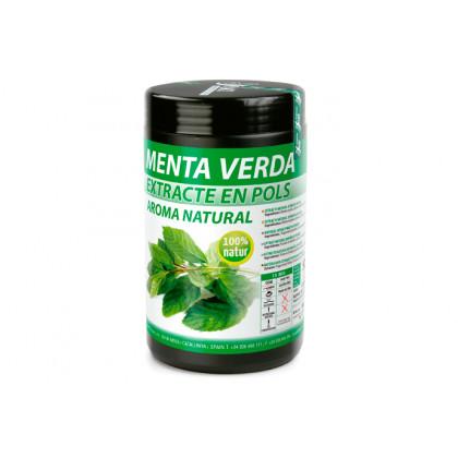Extracte natural de menta verda en pols, Sosa