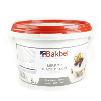 Mirror Glaze Deluxe blanc (5kg), Bakbel