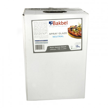 Spray glaze neutre (15kg), Bakbel