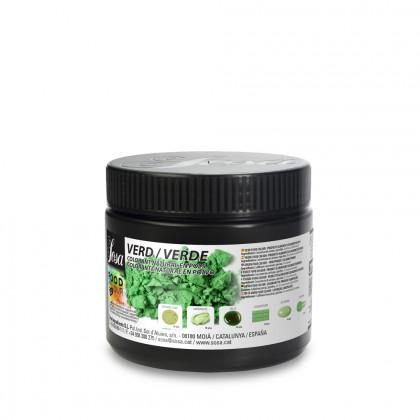 Food Colour verde en polvo, Sosa