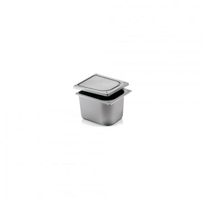 Cubeta Plàstic Injecció Gris 2,5 L.