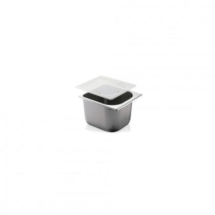 Cubeta Plàstic Gris Italiana 2,5 L