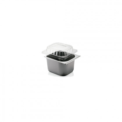 Tapa Alçada 3,5 cm Plàstic Injecció Transparent Cubeta 2,5L.
