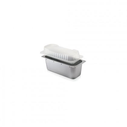 Tapa Alçada 3,5 cm Plàstic Injecció Transparent Cubeta 4,75