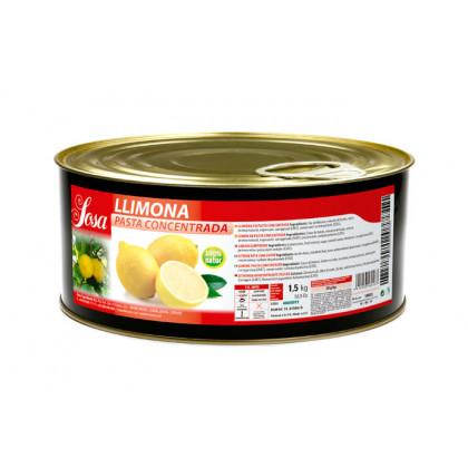 Llimona en pasta - natural, Sosa