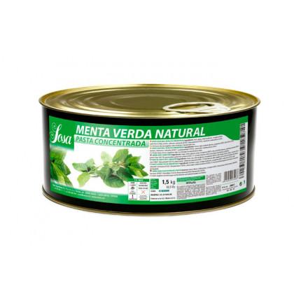 Menta verd en pasta, Sosa