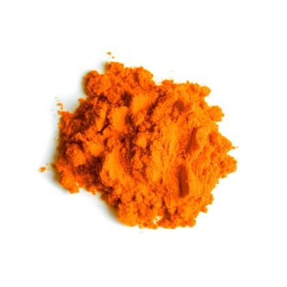 Colorant laca taronja en pols, Sosa