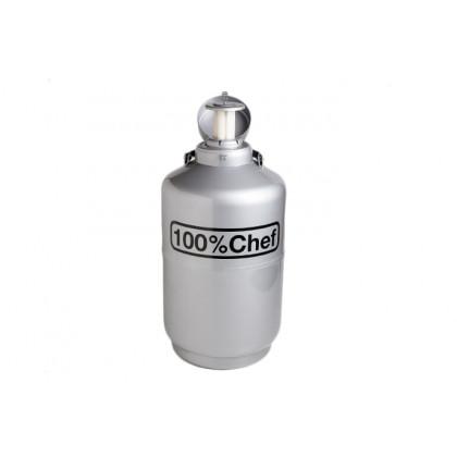 Contenidor de nitrogen (10l), 100% Chef