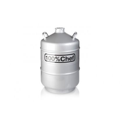 Contenidor de nitrogen (20l), 100% Chef