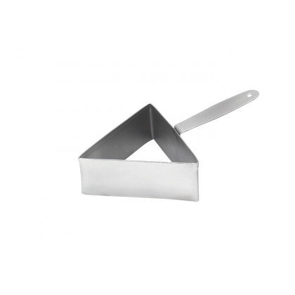 Cèrcol d'emplatat triangular XL (100mm), 100% Chef