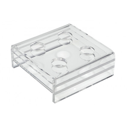 Suport metacrilat per a 4 pipetes grans (85x80x30mm), 100% Chef