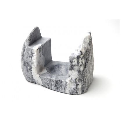 Suport de marbre Himàlaia gris (15x10x12cm), 100% Chef